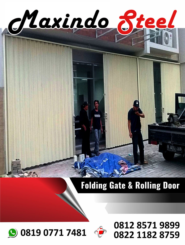 folding gate tangerang