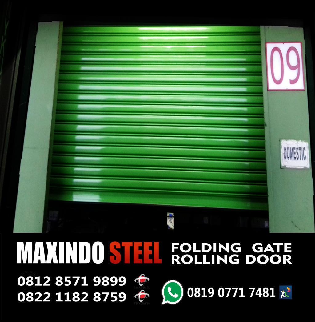 folding gate & rolling door tangerang